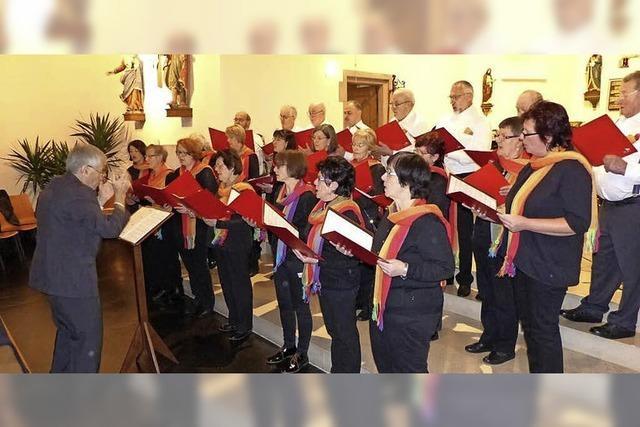 """Kirchenchor """"Frohsinn"""" aus Lembach feiert 40-jähriges Bestehen"""