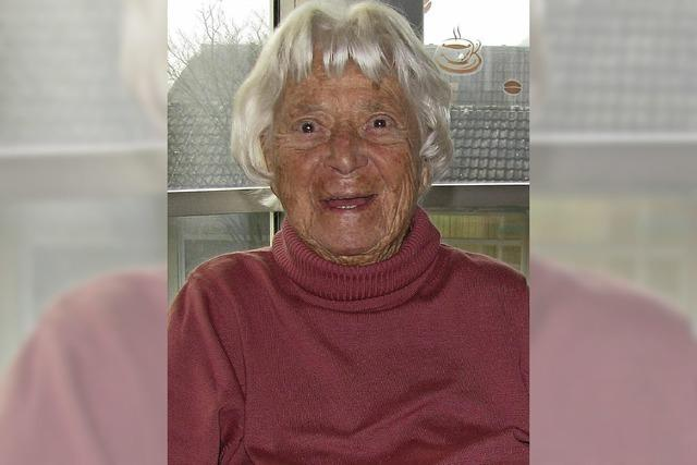 Freude über 95. Geburtstag