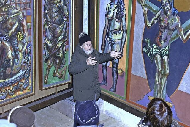 Ein Künstler, der an Gott glaubte und dies malte