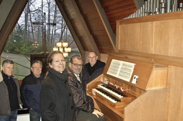 Neuer Platz für Orgel von Schloss Beuggen