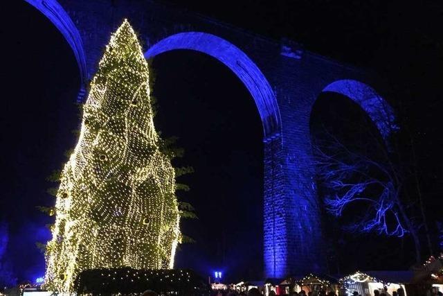 Ein Bummel über den Weihnachtsmarkt in der Ravennaschlucht