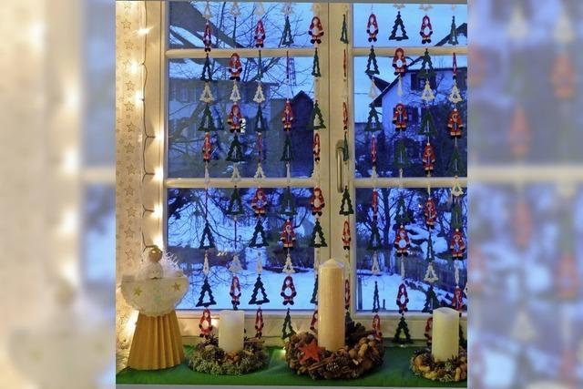 Adventsfenster in Raich