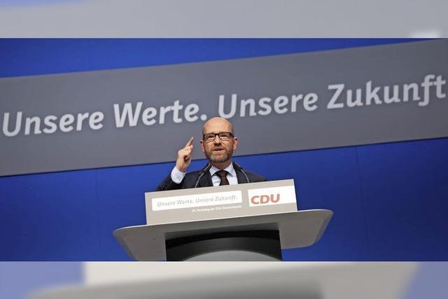 CDU gibt sich konservativ