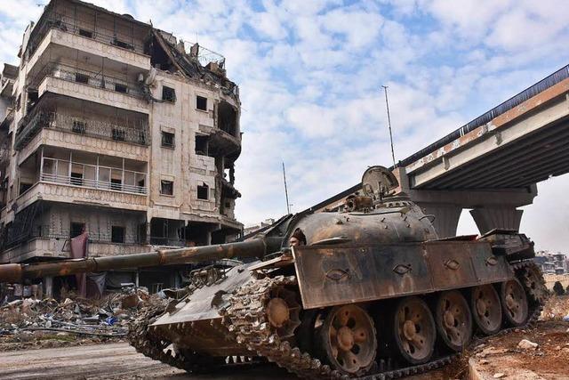 Syrische Truppen erobern Aleppos Altstadt