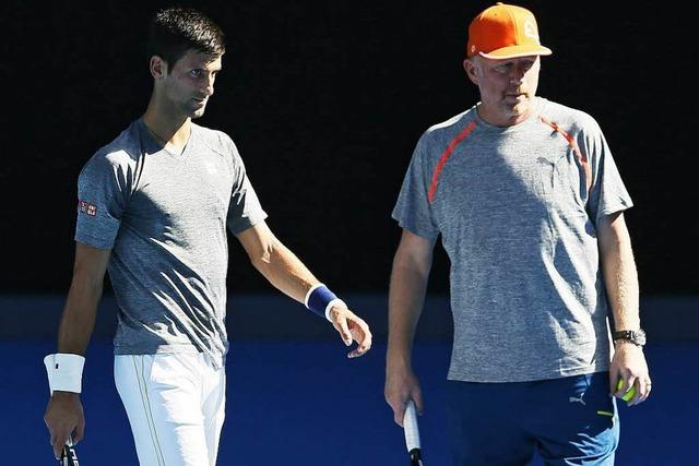 Tennisstar Djokovic und Trainer Becker trennen sich