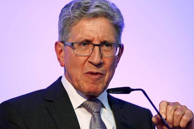 Weltbürgermeister: Wolfgang G. Müller in der Endrunde
