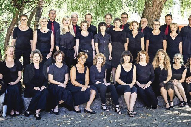 Chor Temporal konzertiert in Müllheim