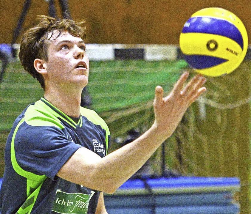 Jugend first: Die 19-jährigen Giovanni...skonzept der Freiburger Volleyballer.   | Foto: Seeger/Keller