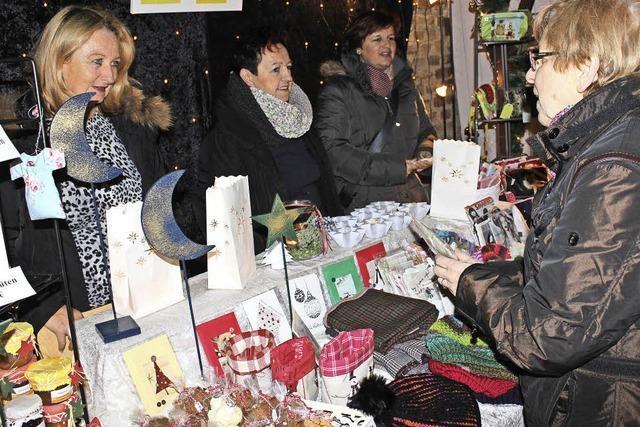 Weihnachtliche Marktfreude