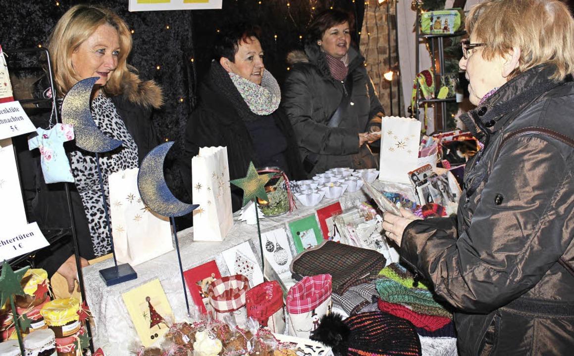 Wer kleine Geschenkideen sucht, der wi...m Sonntag in Gottenheim (Bild) fündig.  | Foto: mario schöneberg