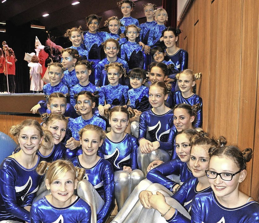 Die jungen Turnerinnen des TVN   | Foto: TVN