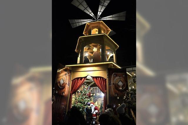 Bad Krozinger Weihnachtsmarkt eröffnet