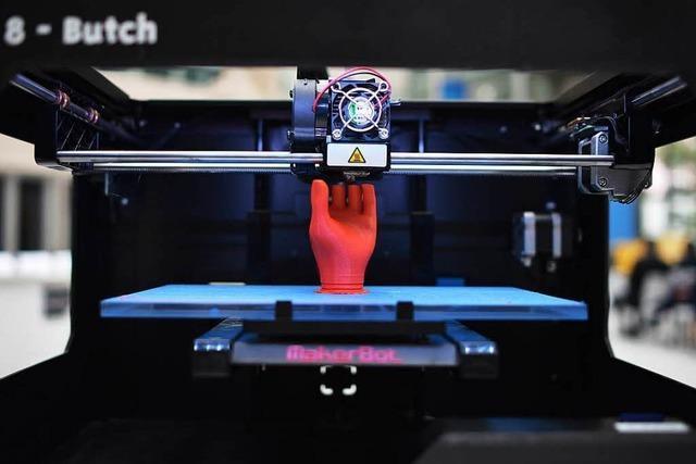 Südbadens Wirtschaft profitiert von 3-D-Druck-Technik