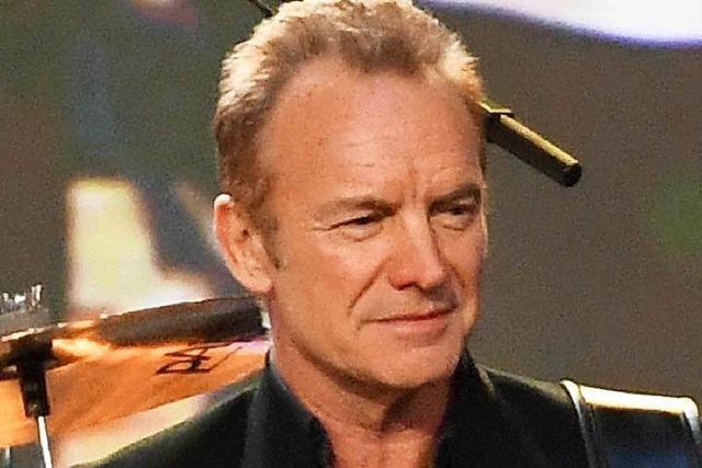 Sting und die Pixies bei der Foire aux Vins in Colmar