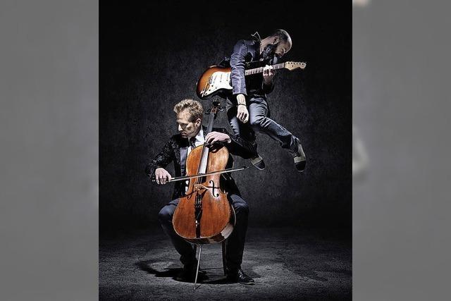 Klasik meets Rock mit Violoncello und Gitarre im Haus der Musik
