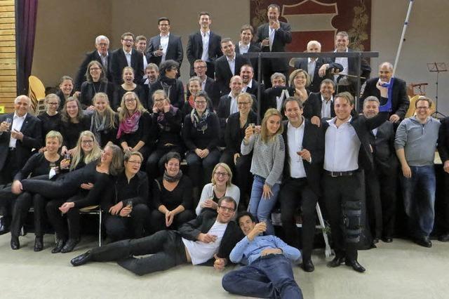 Sinfonisches Blasorchester der Stadtmusik Löffingen in Höchenschwand