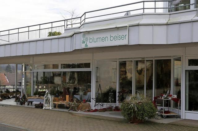Blumengeschäft und Gärtnerei Beiser in Oberschopfheim schließen Ende Januar