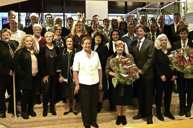 Vita-Zahnfabrik ehrt treue Jubilare