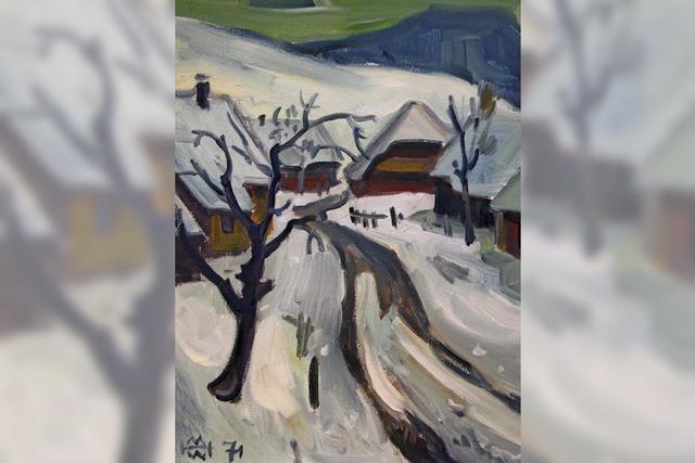 Hans-Thoma-Kunstmuseum zeigt Gemälde von Helmut Müller-Wiehl