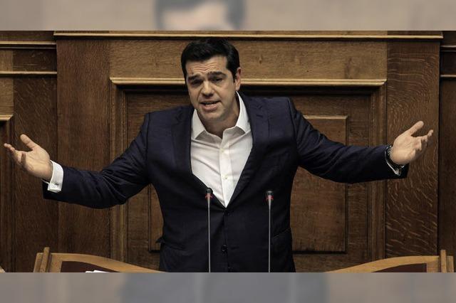 Tsipras verteilt im Alleingang Wahlgeschenke