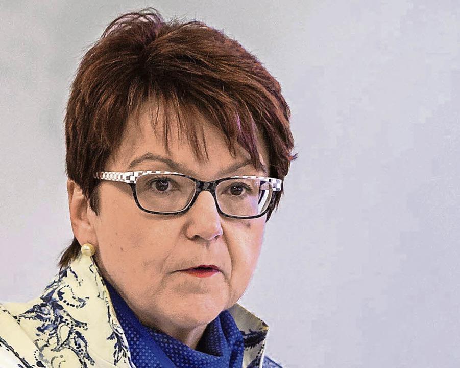 Inge Gräßle will mehr Frauen auf vorderen Listenplätzen.  | Foto: Ünver