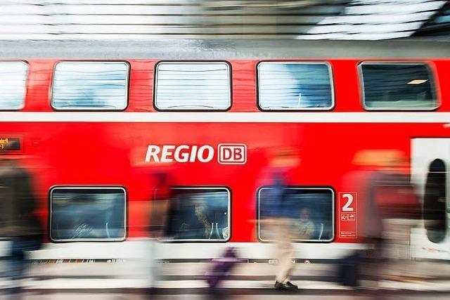 Bahn setzt auf Rheintalbahn neue Waggons ein