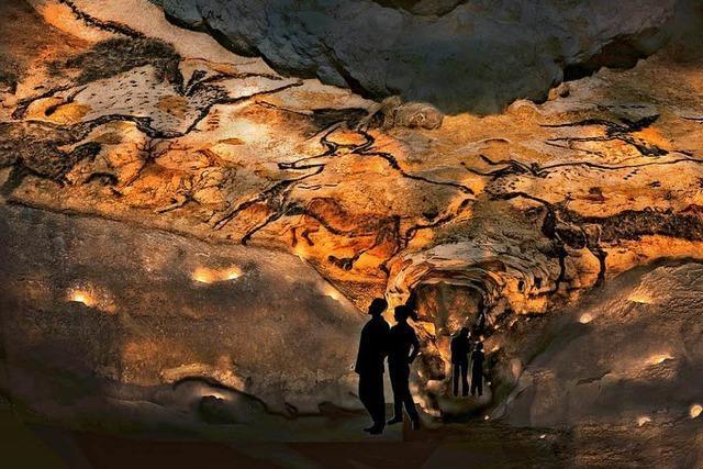 Riesige Höhle von Lascaux zum dritten Mal originalgetreu nachgebaut