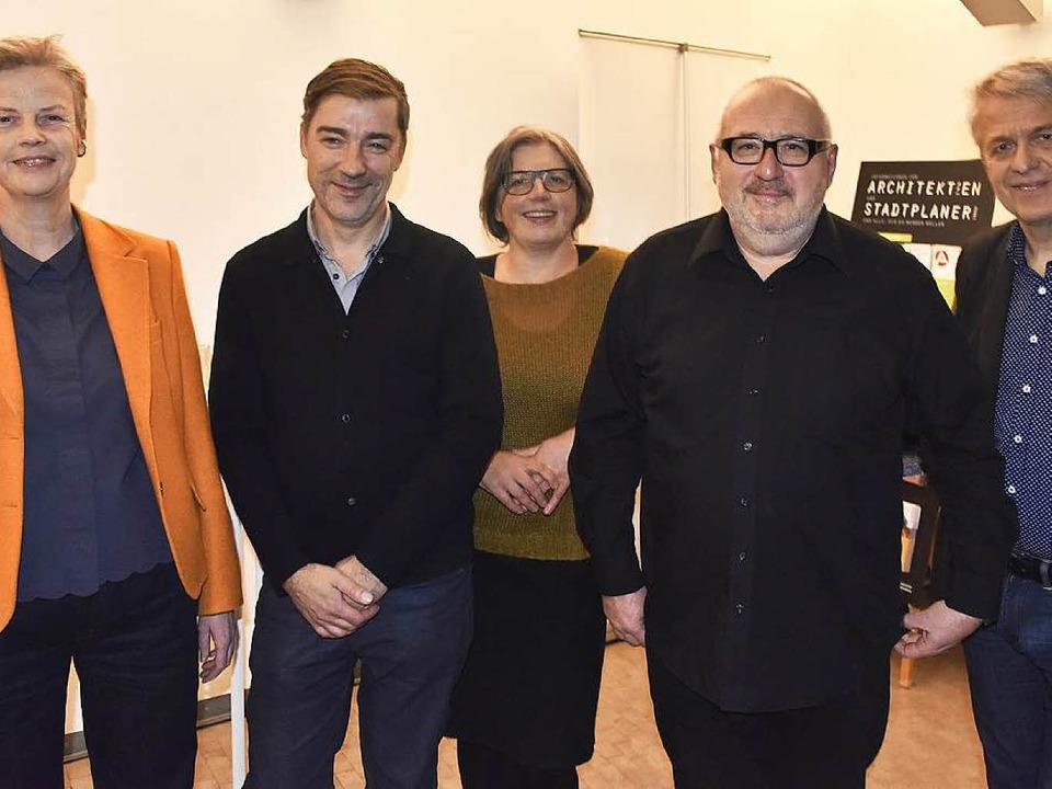 Angeli Janhsen, Dietrich Roeschmann, A...us Merkel und Michael Gies (von links)  | Foto: Michael Bamberger