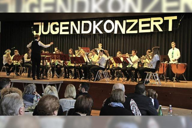 Mehr als 220 Besucher beim Jugendkonzert in der Römerhalle