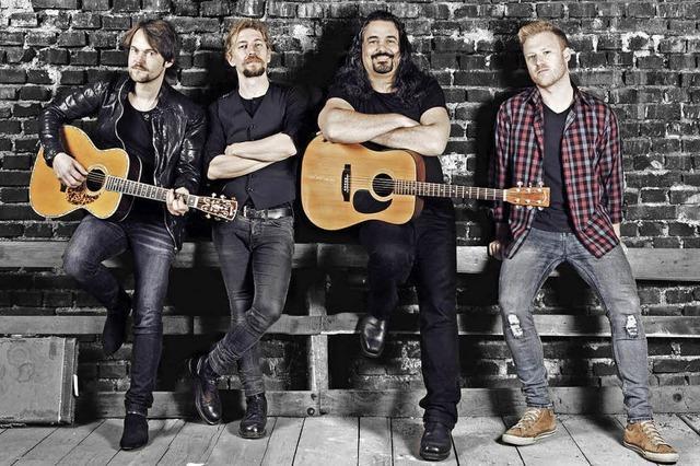 The Heavy Hitters Acoustic Project in der Wodan-Halle