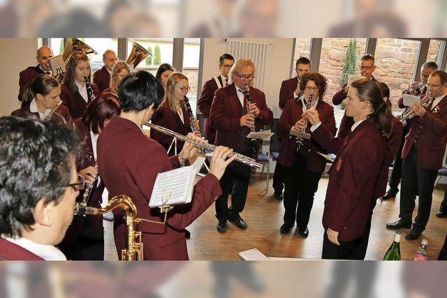 Musikverein und Chor gestalten das Wochenende