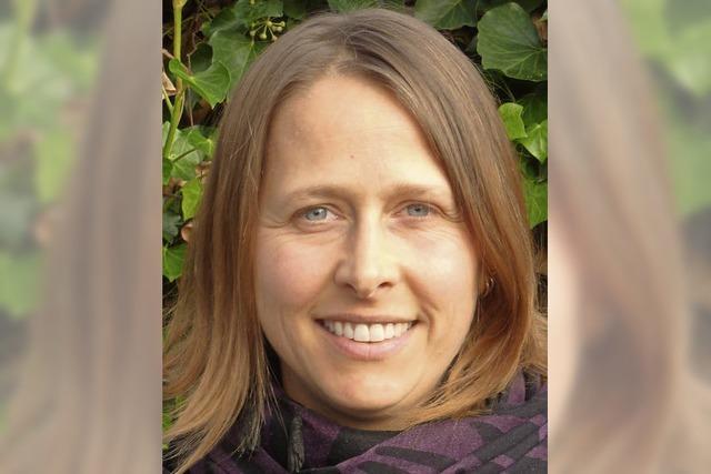 Katrin Wiegand ist Kandidatin