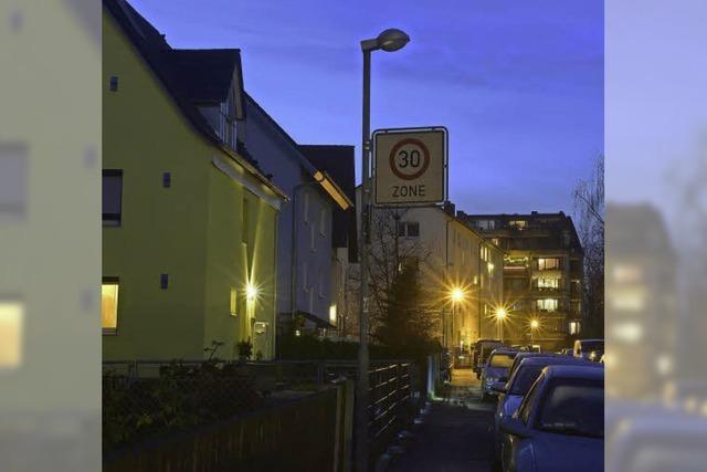 An der Buchenstraße ist's zappenduster