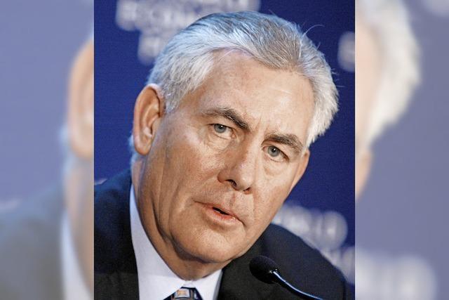 Rex Tillerson: Ölmanager mit einem Faible für den Kreml
