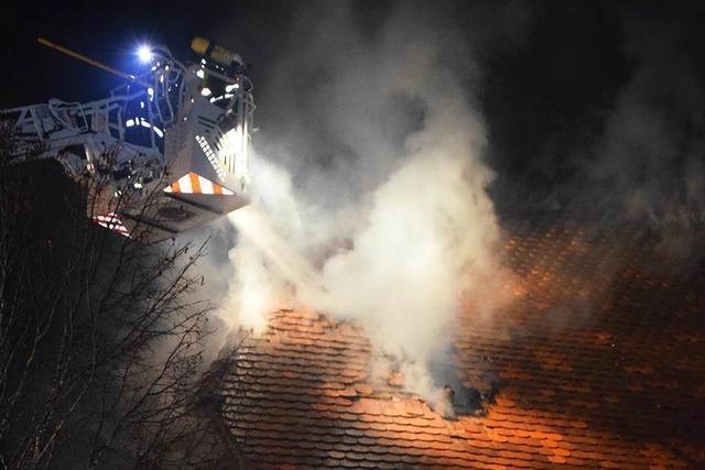 Hotel in St. Märgen hat gebrannt - drei Mitarbeiter im Krankenhaus