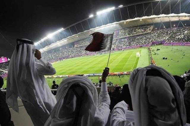 Neues Arbeitsgesetz auf WM-Baustellen in Katar