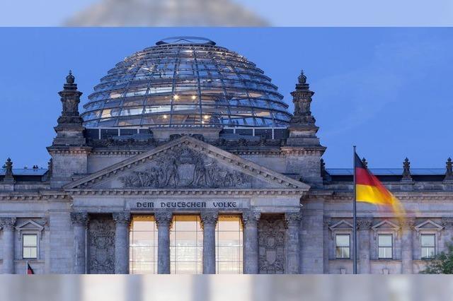 Vor der Bundestagswahl nach Berlin!