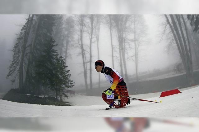 Skisport im Sitzen