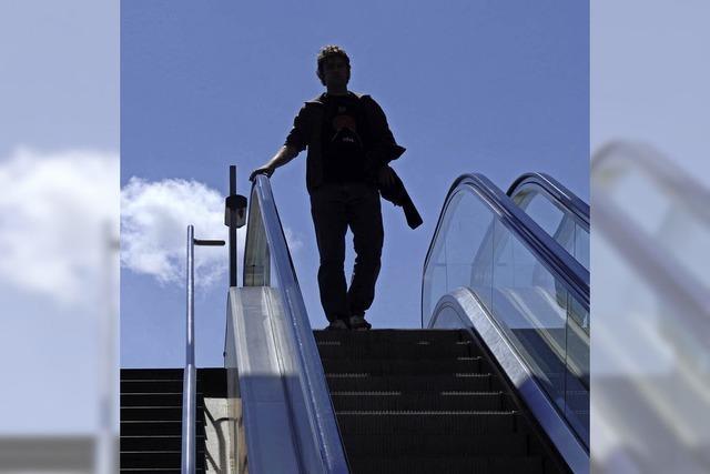 Auf dem Weg nach unten
