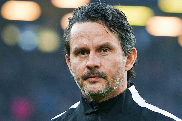 FC Augsburg trennt sich von Trainer Dirk Schuster