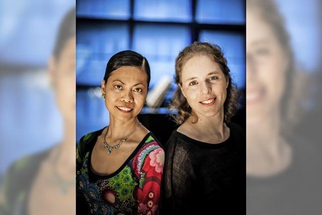 Melanie Bähr (Klavier) und Maria Aldenova (Sopran) bieten Werke u. a. von Strauß und Debussy