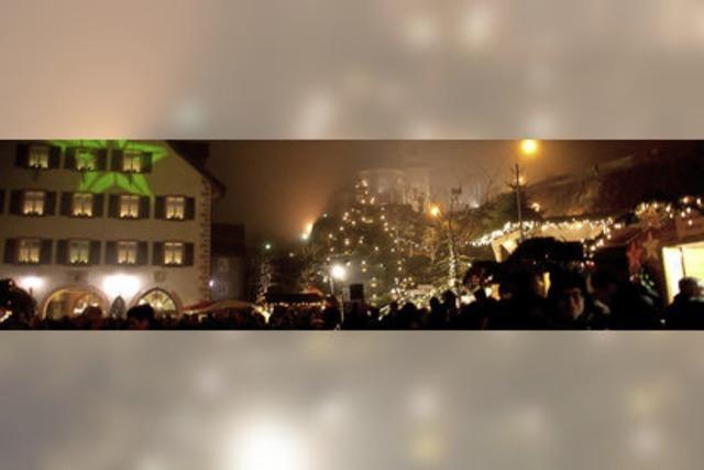 Märchenhafte Altstadtweihnacht in Laufenburg