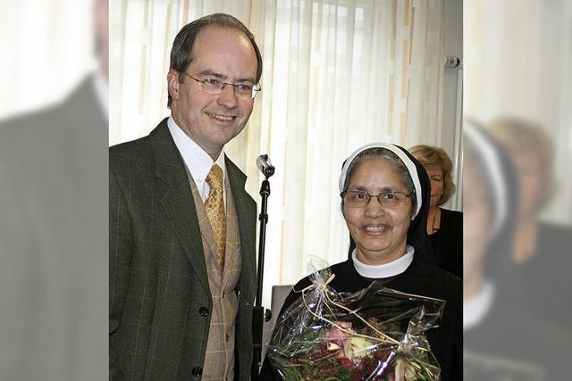 Abschied von Ordensschwester Divya