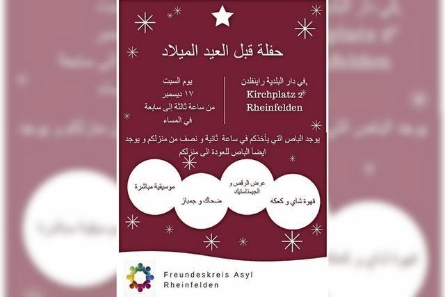 VON 1 BIS 24: Einladung auf Arabisch