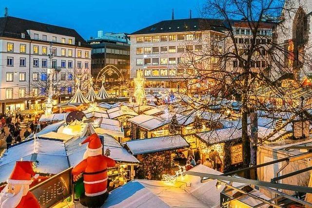Christmas Shopping im Dreiländereck: Der Basler Weihnachtsmarkt