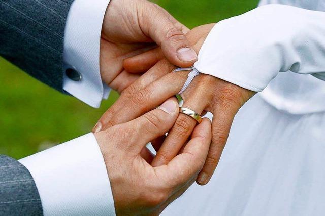 Hochzeiten zwischen 2011 und 2016 im Kreis Bonndorf