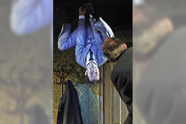 Gregor Samsa in der Kletterwand