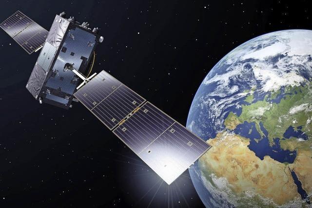 Seit Donnerstag ist das europäische Satelliten-System im Einsatz