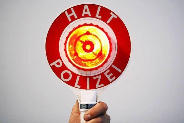 Polizeikontrollen wegen Einbruchskriminalität laufen ins Leere