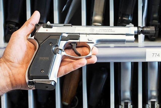 Polizei nimmt Mann mit Pistole in Merzhausen fest – fünf Vorfälle mit Waffen in fünf Tagen